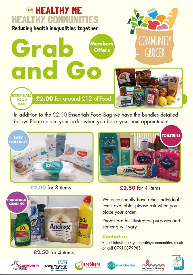 Grab and Go leaflet