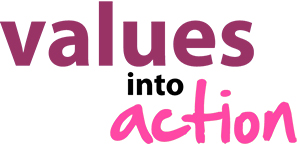 Values into Action logo