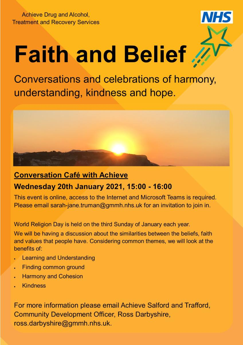 Faith and Belief Conversation Cafe