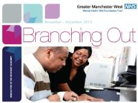 A cropped snapshot of the front cover of the November/December edition of the Academy newsletter Branching Out.