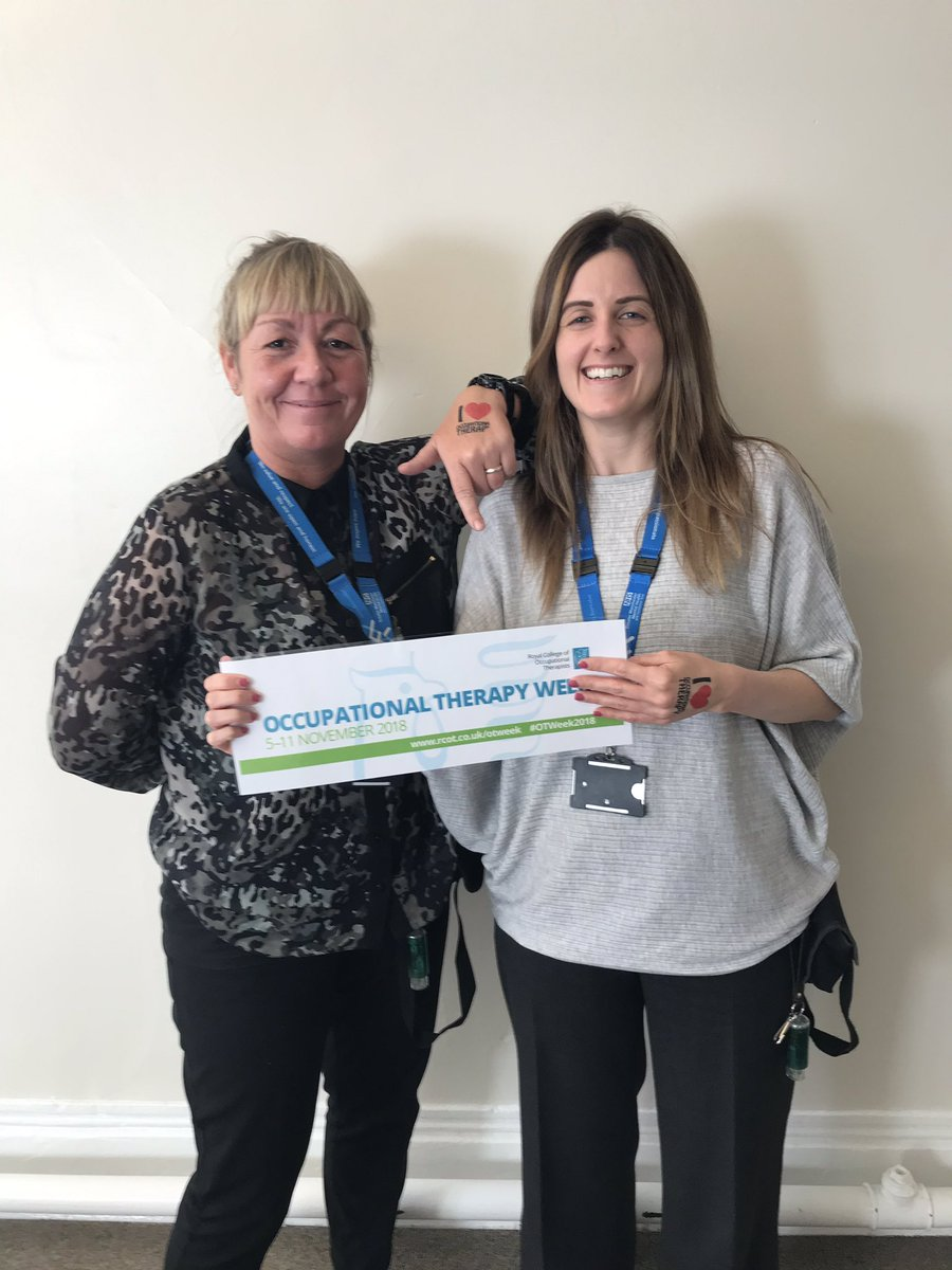 GMMH Occupational Therapists are celebrating OT Week 2018 ...