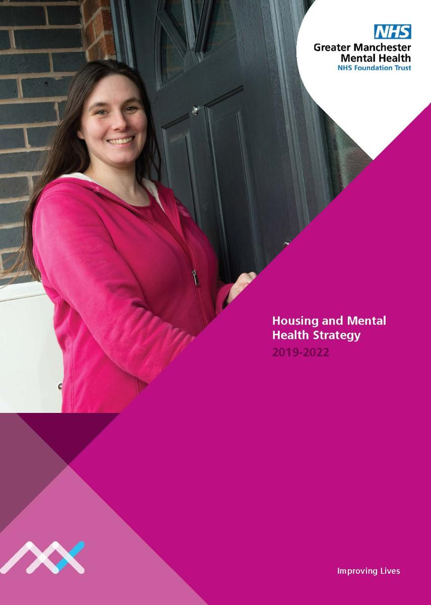 GMMH036 Housing Stratgey 2019-2022 - Cover Image